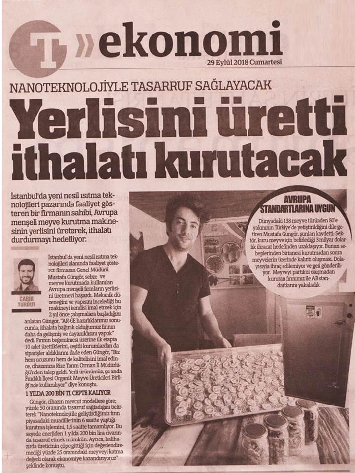 FAREFFECT - Türkiye Gazetesi